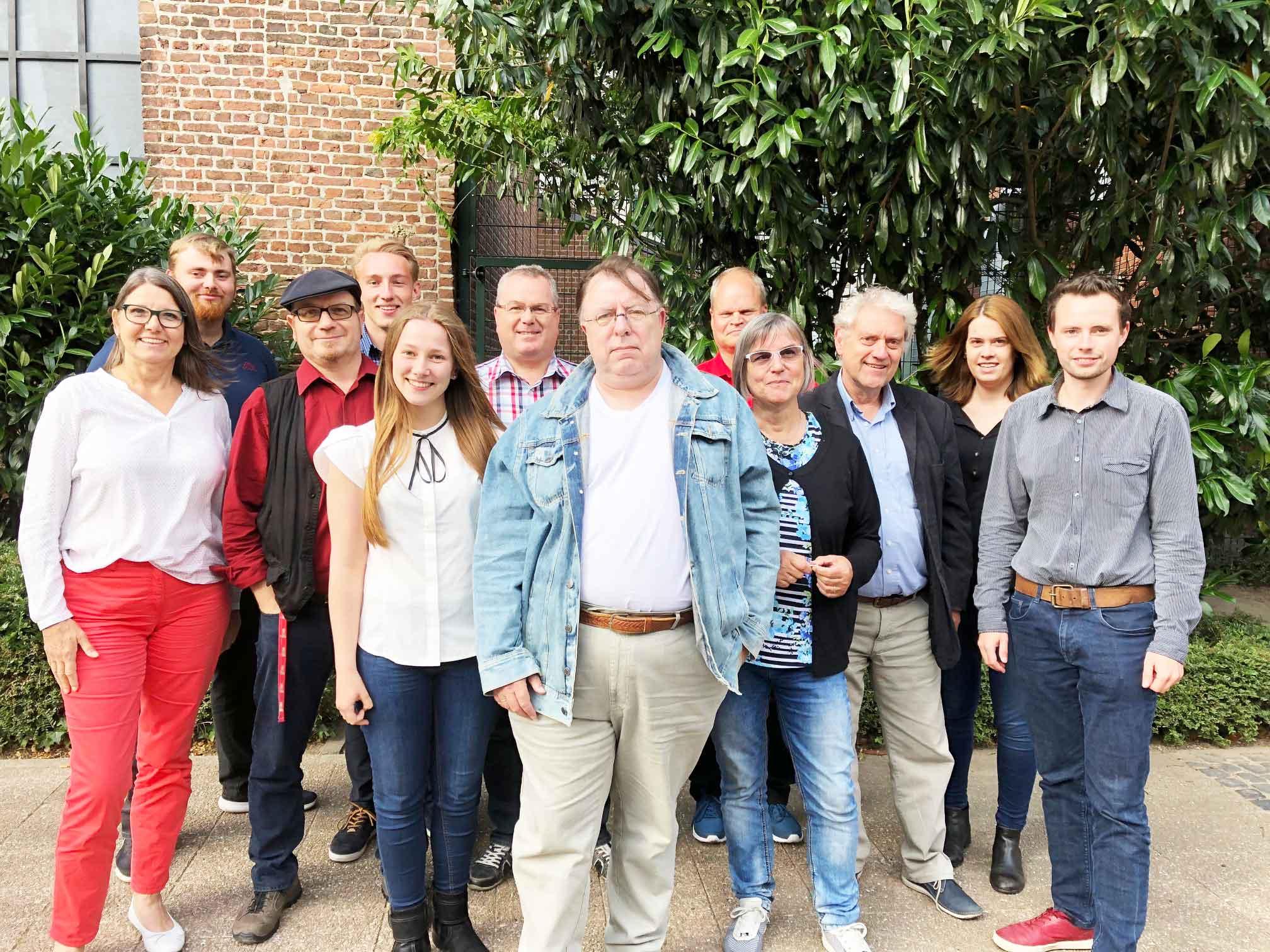 Vorstand der Gelderner SPD