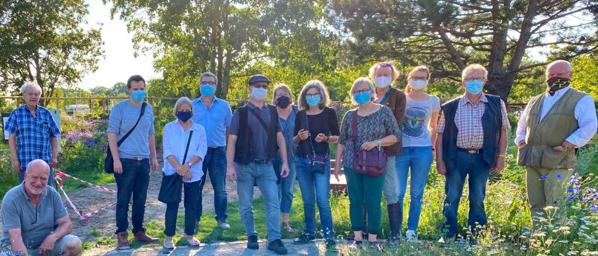Permalink auf:Sommerprogramm der SPD-Fraktion: Besuch im neuen Kneipp-Garten