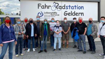 Permalink auf:Sommerprogramm der SPD-Fraktion: Besuch der Gelderner Radstation